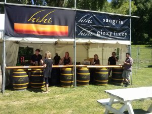 Hihi stand at 2013 wine festival.